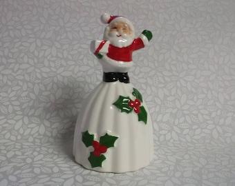 Vintage Norcrest Santa Christmas Bell