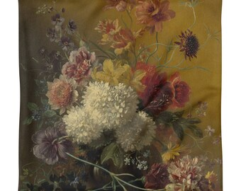 Cushion cover-Still Life with flowers by G.J.J. of ox-square 45 cm