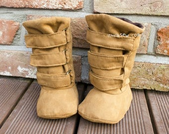 670 Ainsley Baby Boots PDF Sewing Pattern