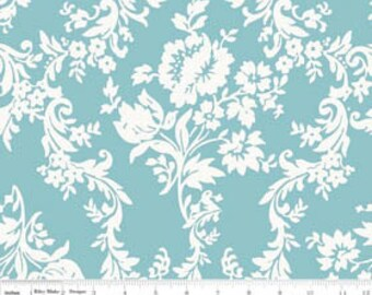 SALE - Lost and Found 2 - Damask Aqua by My Mind's Eye from Riley Blake
