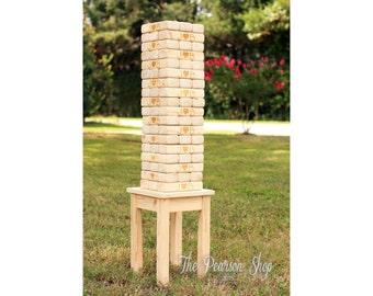 Build Tower With Jengo Blocks