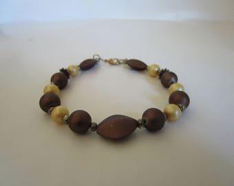 Brown & Silver Bracelet