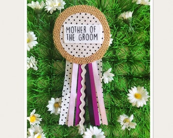 Mother Of The Groom Hen Party Rosette Badge