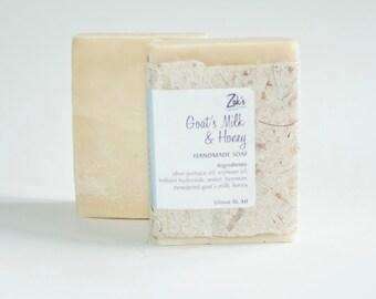 Goat's Milk & Honey Handmade Soap