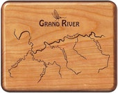 GRAND RIVER MAP Fly Box -...