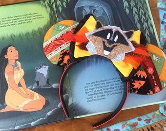 Indian Princess Pocahontas Inspired Minnie Ears