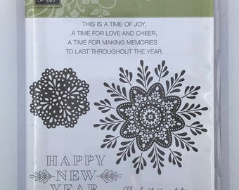 Stampin' UP! Frosted Medallions Set