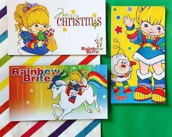 Rainbow Brite Magnet Set (3 Magnets) 1980s