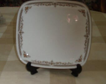 Royal Doulton Square Plate Repton Pattern