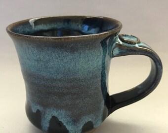 Galxy Blue Drip Mug