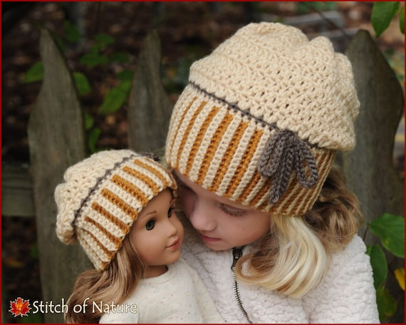 Crochet Hat Pattern The Brockton Slouchy Hat Folded Brim