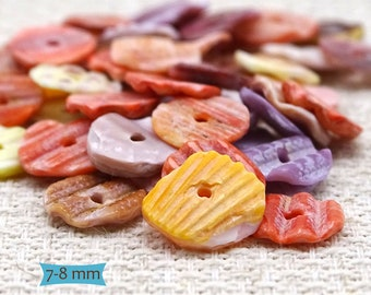 Natural Color Oyster Shell Heishi Beads--50 Pcs. | 30-697-50