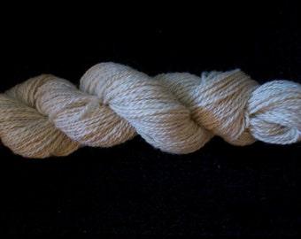 Hand Spun Pure Alpaca Yarn 142 yards More Yarn Available
