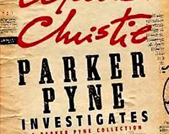 PARKER PYNE INVESTIGATES by Agatha Christie Mint Condition Book Case Fresh/Gift Quality