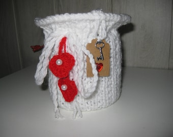 ♥ box dressed in wool and his two hearts