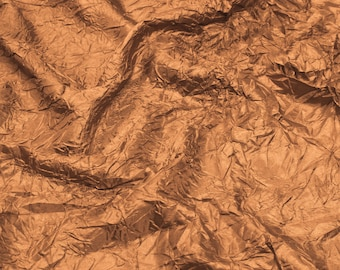 Amber 52''  Crushed Polyester Taffeta Habetie Pattern Crushed Fabric by the Yard - Style 3050