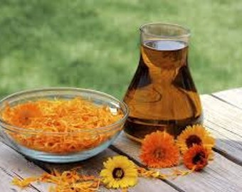 Neutral Body Massage Oil - For sensitive skin - without any essential oil - with sweet almond oil ad Calendula - 100 ml
