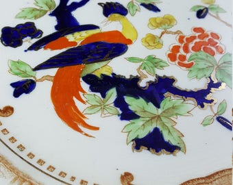 """Birds of Paradise """"Westminister"""" Plate"""