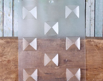 Pyramid Chocolate Molds Set, Pyramid Candy Molds, Pyramid Truffle Molds, Wedding Favor Candy Molds, Candy Moulds, Chocolate Moulds (2ct)