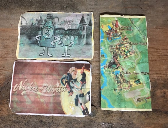 Mini Kühlschrank Nuka Cola : Fallout nuka welt postkarten und karte