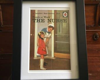 Retro Ladybird Book cover. The Nurse