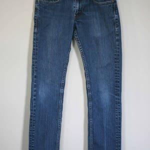 vintage levi 511 blue jeans 28 x 31