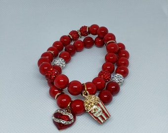 Movie Date Charm Bracelet
