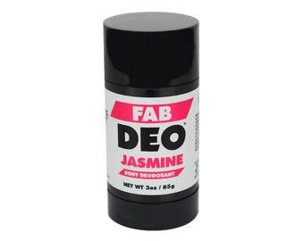 JASMINE Natural Deodorant Deoderant Stick Vegan