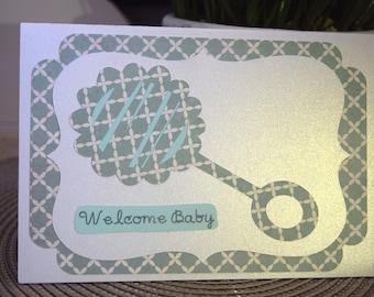 Baby Shower Card Boy