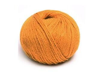 Indiecita 100% Baby Alpaca Yarn -DK- Orange