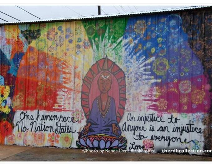 New Orleans Buddha Peace Street Art Photograph