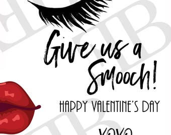 Smooch! Custom Valentine