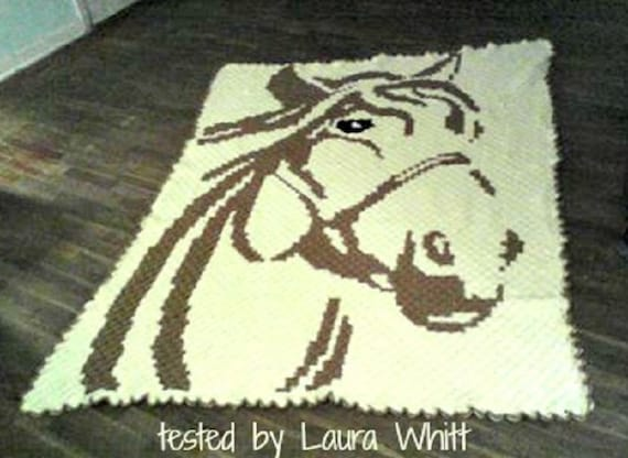Horse c2c graph word chart crochet pattern corner to corner horse c2c graph word chart crochet pattern corner to corner afghan pattern horse blanket crochet blanket crochet graph pattern from angelamosley on ccuart Image collections
