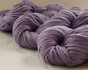 LILAC ~ ARAN Pure natural Cotton yarn ~ co.no 37