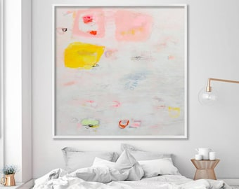 """Large wall art Abstract Painting Giclee Print Abstract Art Home Decor Art Print up to 40"""" from Acrylic Painting"""