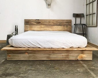 Impressive Wooden Bed Frames Painting