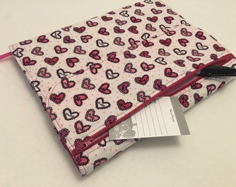 Composition Notebook Journal Cover, Heartful