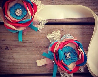 Custom Sash and Headband