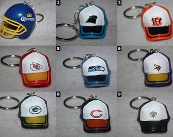 NFL and Football Accessories - Key Chains, Necklaces and More - CHOOSE OPTIONS