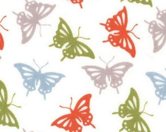 Animal fabric, patchwork fabric, fabric butterflies Serenade fall fashion