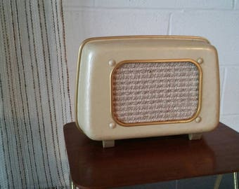 Old house vintage basf, gold, stereo, 50-60's. Deco Scandinavian, gold vinyl record