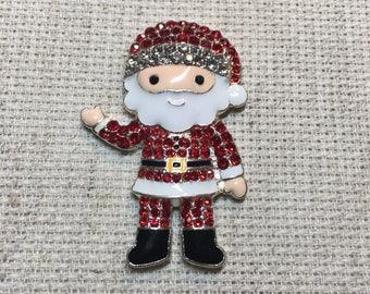 Needle minder Rhinestone Father Christmas, Needle Keep Emporium