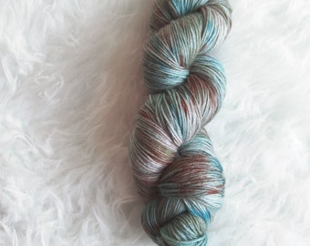 puddles - MCN sock yarn - merino cashmere nylon
