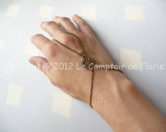 DESTASH set of hand with square stamp