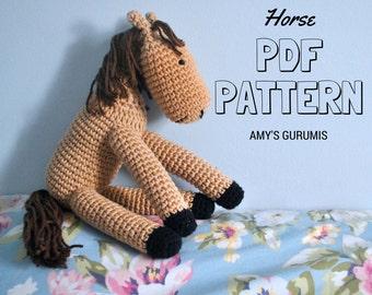 Amigurumi Pattern Horse