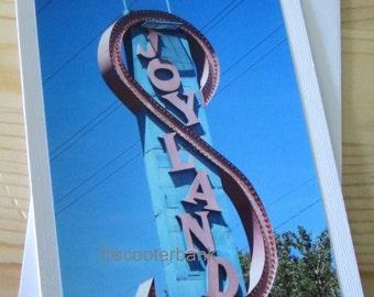 Joyland Logo Sign Photography