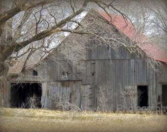 Rural Decay, Rural, Old Barn, Fine Art Photography, Kansas, Kansas Barn, Rustic Barn, Deserted, Deserted Barn Photgrphy