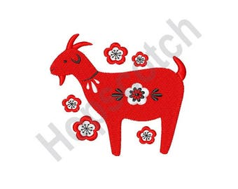 Goat - Machine Embroidery Design