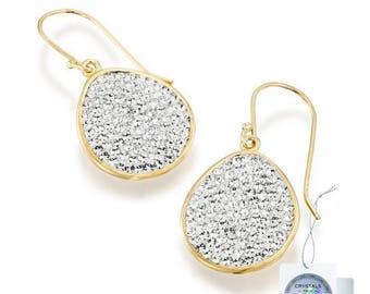 Swarovski Crystal Earrings, Swarovski drop earrings, Bridesmaids Earrings, Bridal swarovski Earrings, Gold earrings, Bridesmaid gifts
