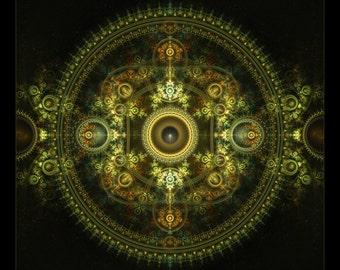 SHAMANIKA - Tapestry, Wall Hanging - Original Pumayana Visionary Art, Spiritual, Psy, Shamanic, Sacred Geometry, Entheogenic Psychedelic Art